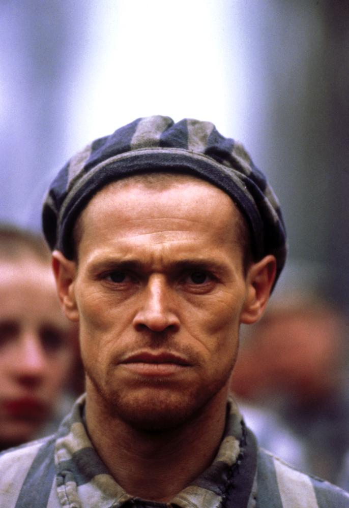 Willem Dafoe in Triumph of the Spirit (1989)