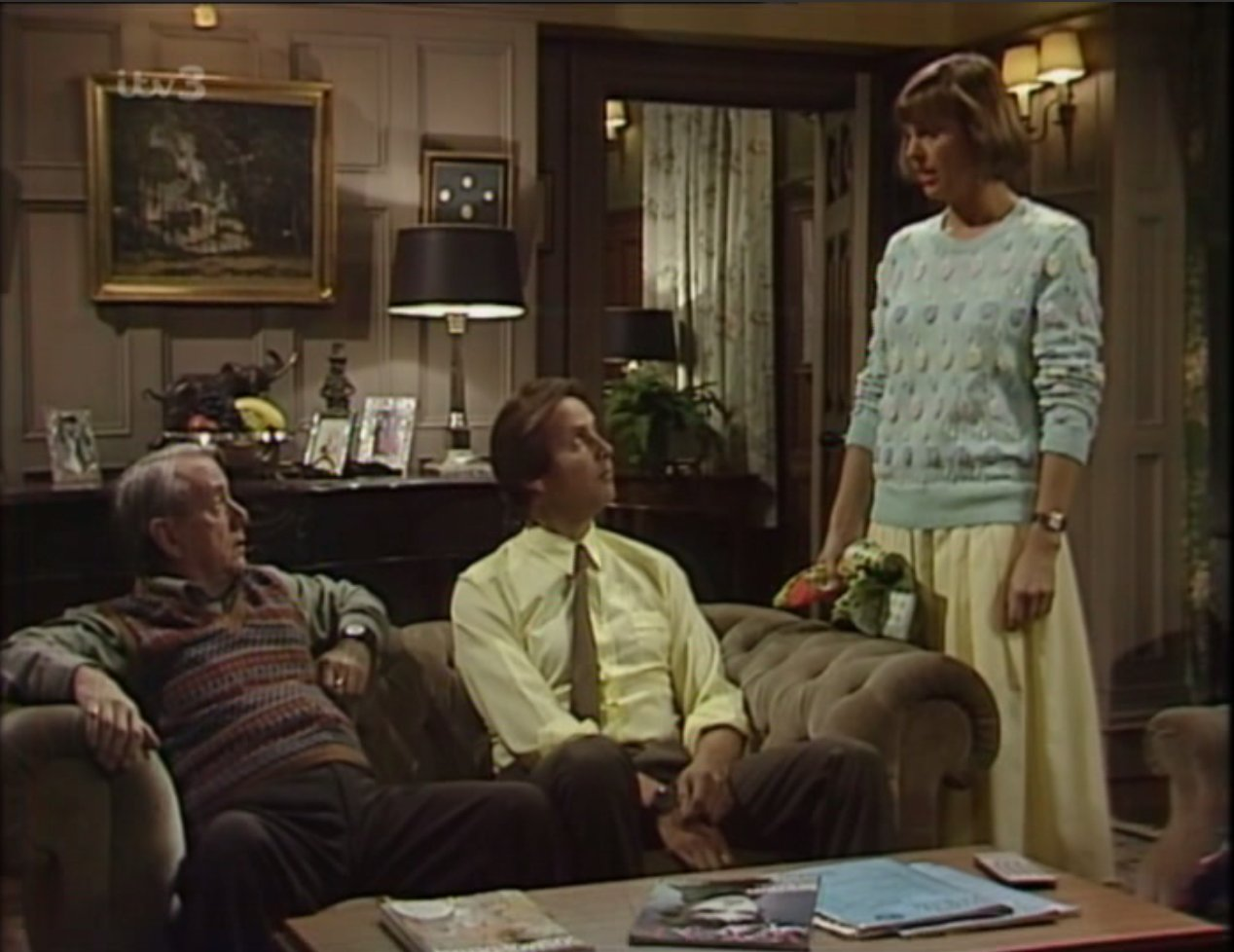 Christopher Blake, Harold Goodwin, and Jennifer Lonsdale in That's My Boy (1981)