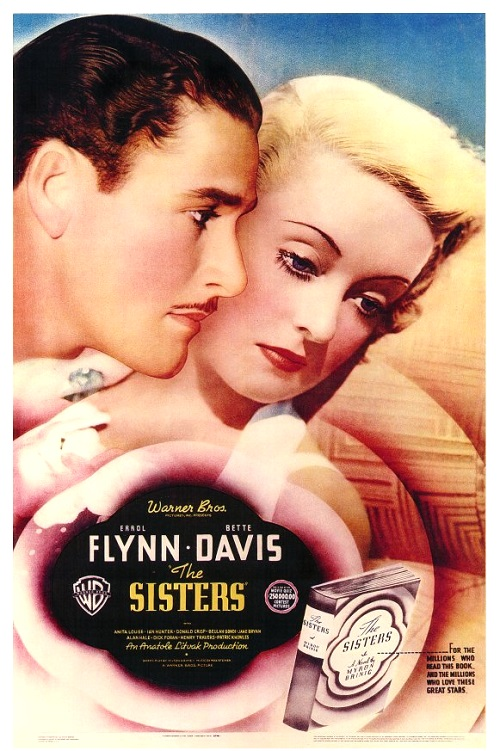 Bette Davis and Errol Flynn in The Sisters (1938)