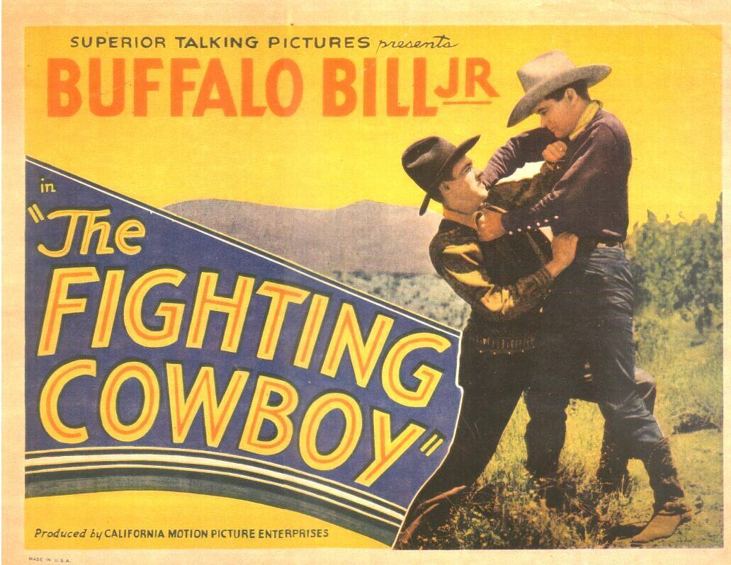 William Ryno and Jay Wilsey in The Fighting Cowboy (1933)