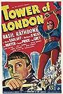 Boris Karloff and Basil Rathbone in Tower of London (1939)
