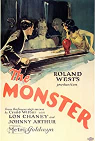 Lon Chaney, Hallam Cooley, and Walter James in The Monster (1925)