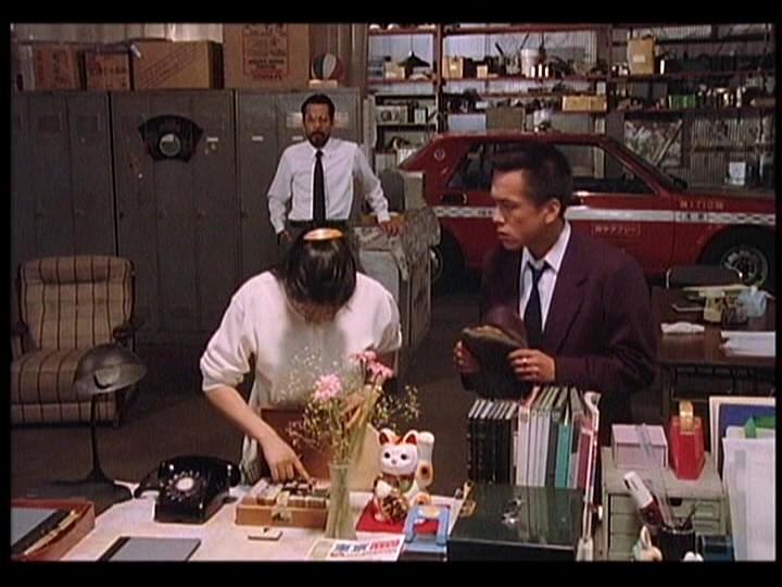 Susumu Terajima and Megumi Morisaki in 893 Taxi (1994)
