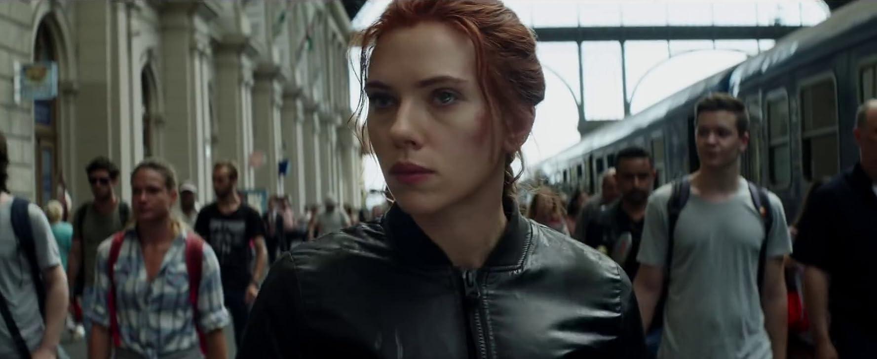 Scarlett Johansson in Black Widow (2020)