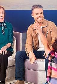 Carol Burnett, Derek Hough, and Emmersyn Fiorentino in A Little Help with Carol Burnett (2018)