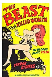 The Beast That Killed Women (1965) Poster - Movie Forum, Cast, Reviews