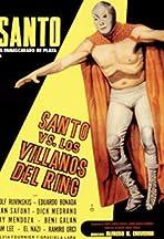 Santo the Silver Mask vs. The Ring Villains