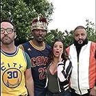 Jamie Foxx, Jeremy Piven, Eva Longoria, and DJ Khaled in All-Star Weekend