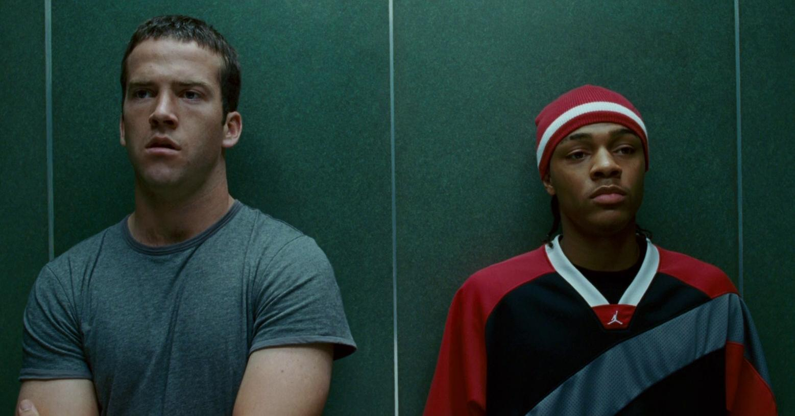 Lucas Black and Shad Moss in The Fast and the Furious: Tokyo Drift (2006)