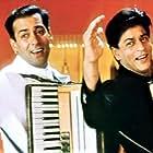 Salman Khan and Shah Rukh Khan in Har Dil Jo Pyar Karega... (2000)