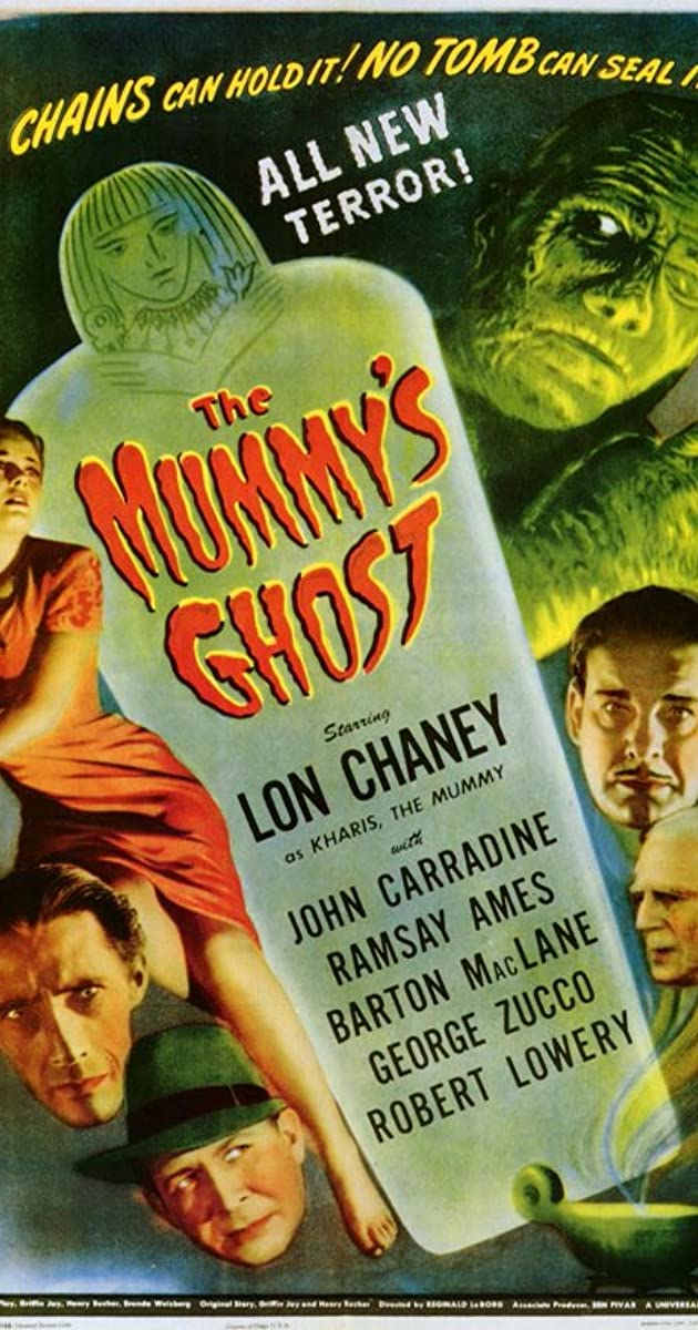 Subtitle of The Mummy's Ghost