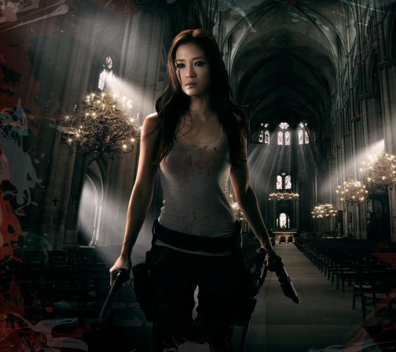 Grace Huang in Bloodtraffic