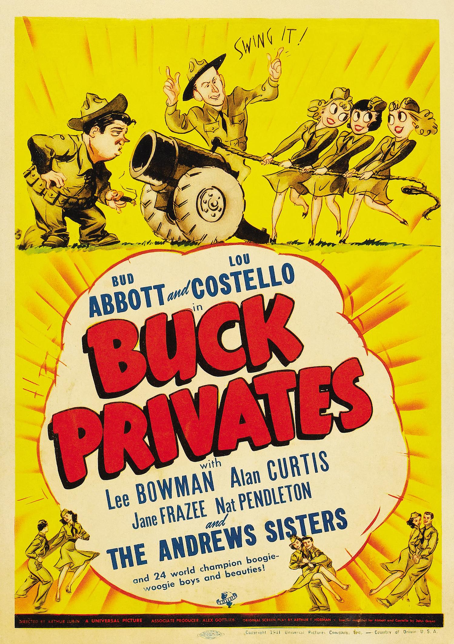 Buck Privates (1941) - IMDb
