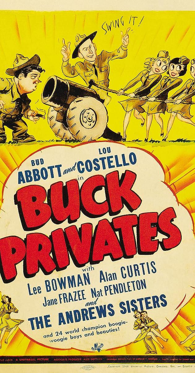 Buck Privates (1941) Subtitles