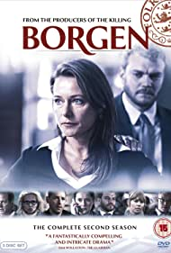 Sidse Babett Knudsen and Emil Poulsen in Borgen (2010)