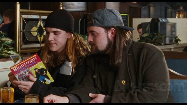 Kevin Smith and Jason Mewes in Chasing Amy (1997)
