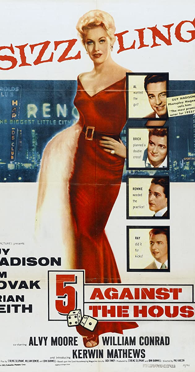 5 Against the House (1955) Subtitles