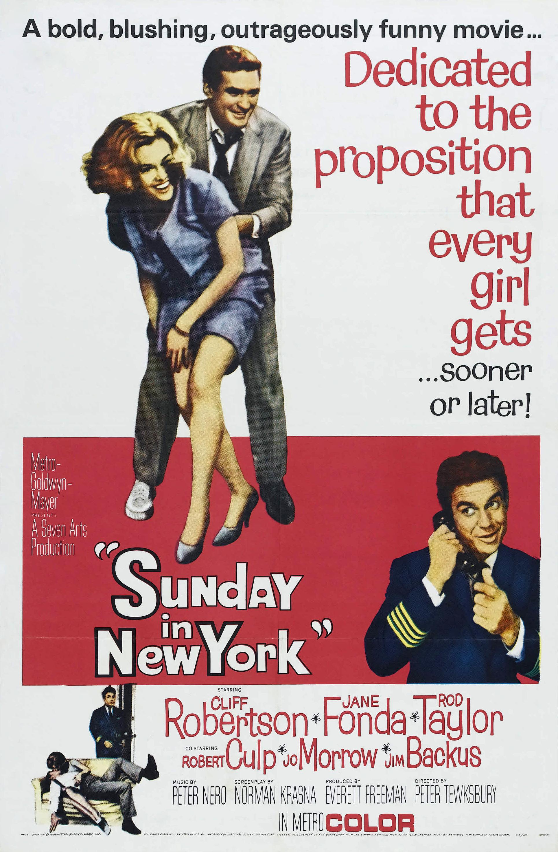 Sunday in New York (1963) - Photo Gallery - IMDb