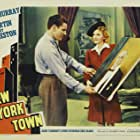 Mary Martin and Robert Preston in New York Town (1941)