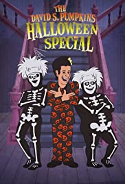 The David S. Pumpkins Halloween Special Poster