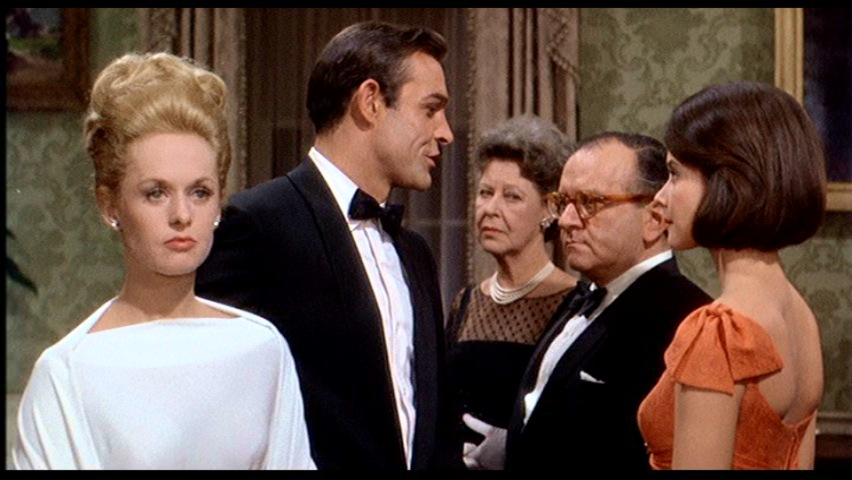 Sean Connery, Diane Baker, Tippi Hedren, Martin Gabel, and Louise Lorimer in Marnie (1964)
