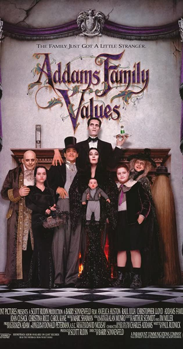 Watch Full HD Movie Addams Family Values (1993)