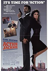 Carl Weathers and Vanity in Action Jackson (1988)