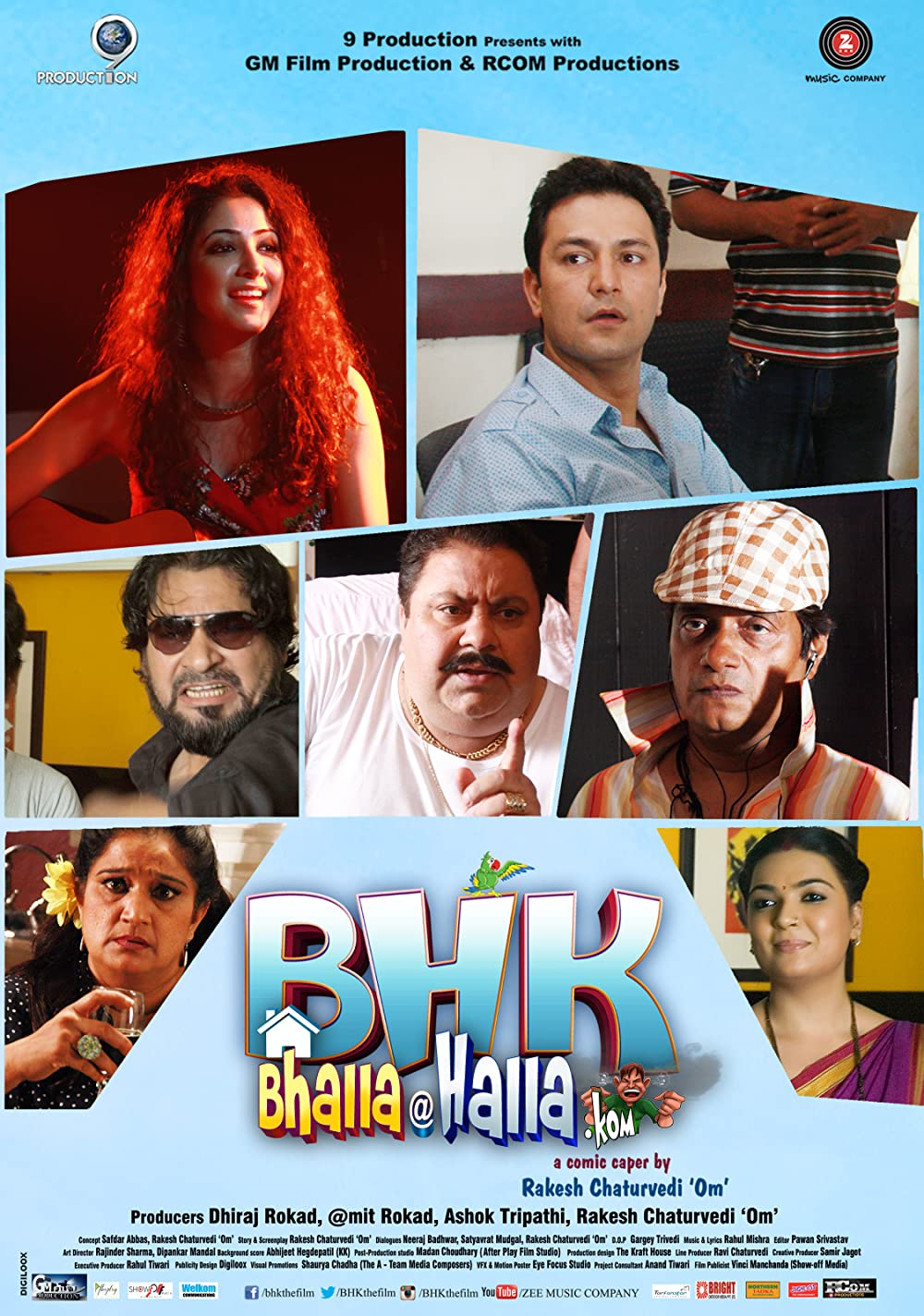 BHK Bhalla@Halla.Kom 2016 Hindi Full Movie 370MB HDRip ESub Download