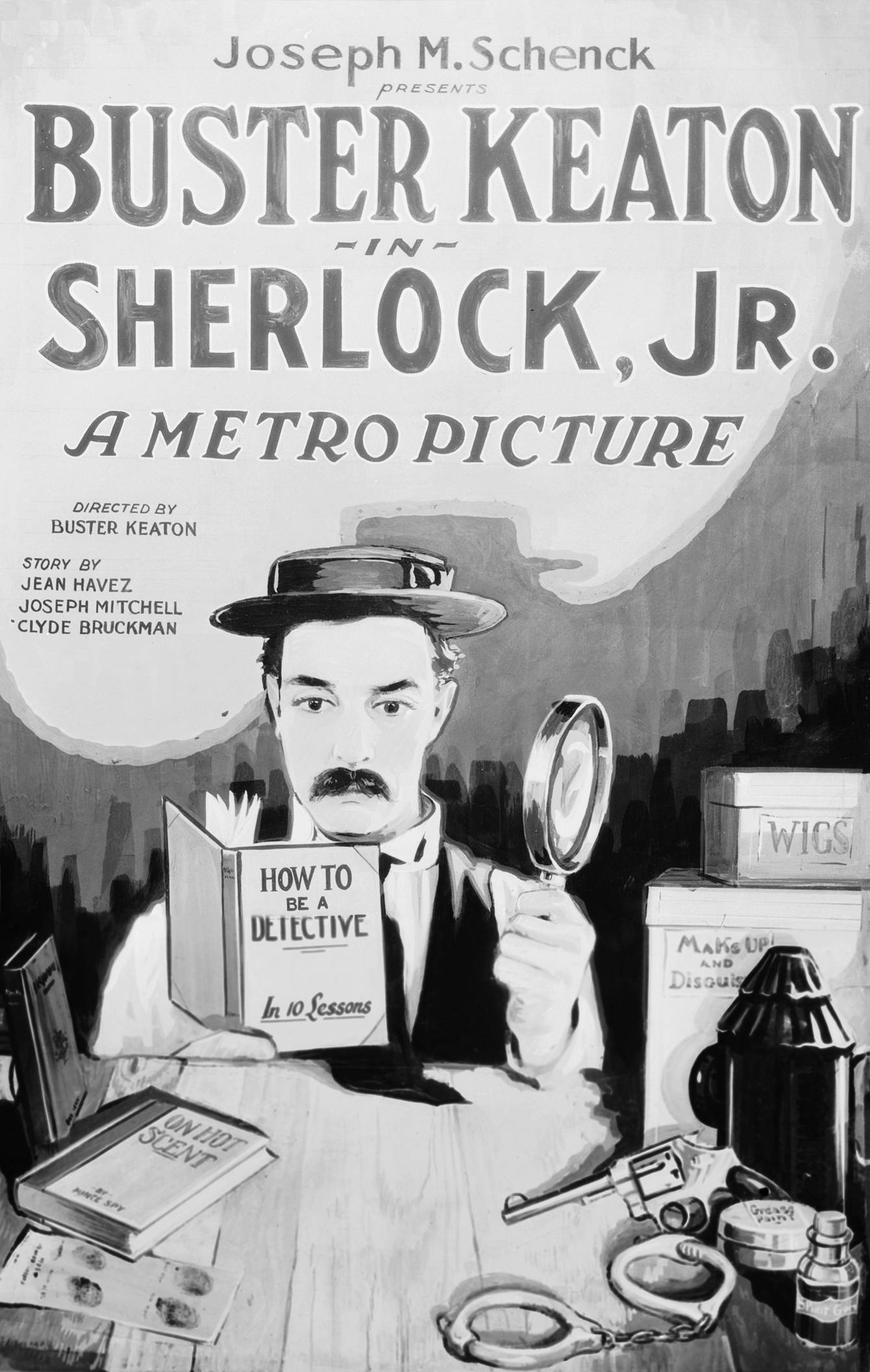 Image result for sherlock jr. movie poster