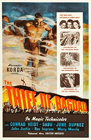 Where to stream The Thief of Bagdad