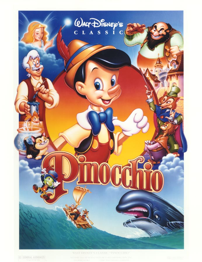 Image result for pinocchio 1940