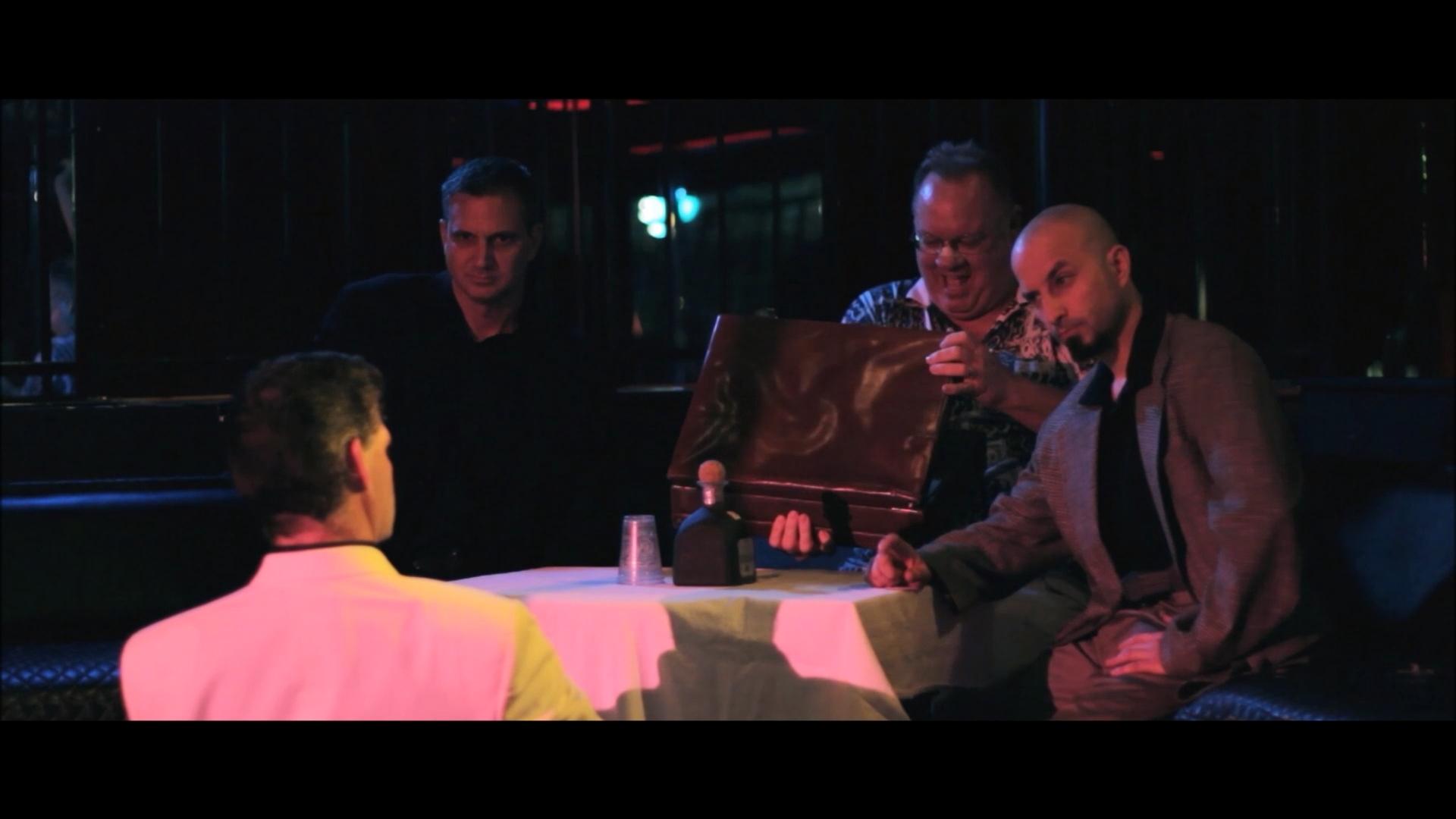 Joel D. Wynkoop, Chris Polidoro, Jeff Sheppard, and Steven Elliot in Peace Love Unity Revenge (2013)