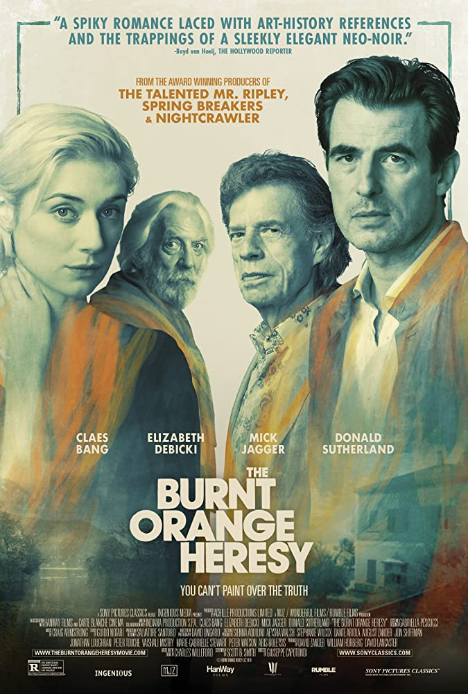 The Burnt Orange Heresy (2019) Hindi Subtitles 300MB HDCAM 480p Full Movie
