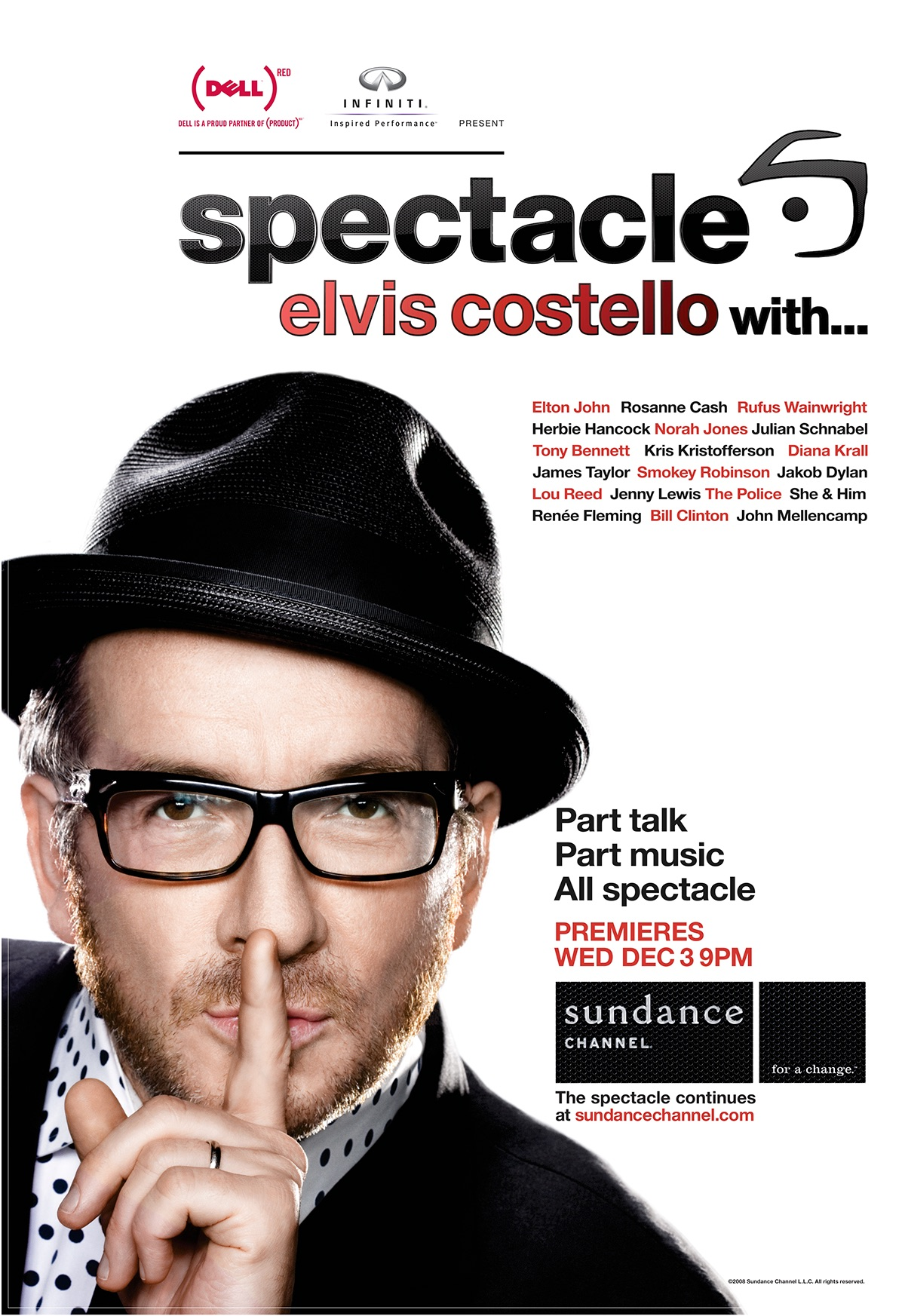 4be9c1ccc33 Spectacle  Elvis Costello with... (TV Series 2008– ) - IMDb