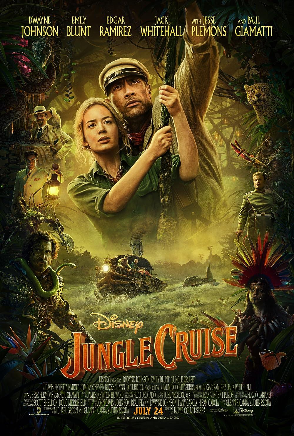Jungle Cruise 2021 English Movie 480p DSNP HDRip MSub 400MB x264 AAC