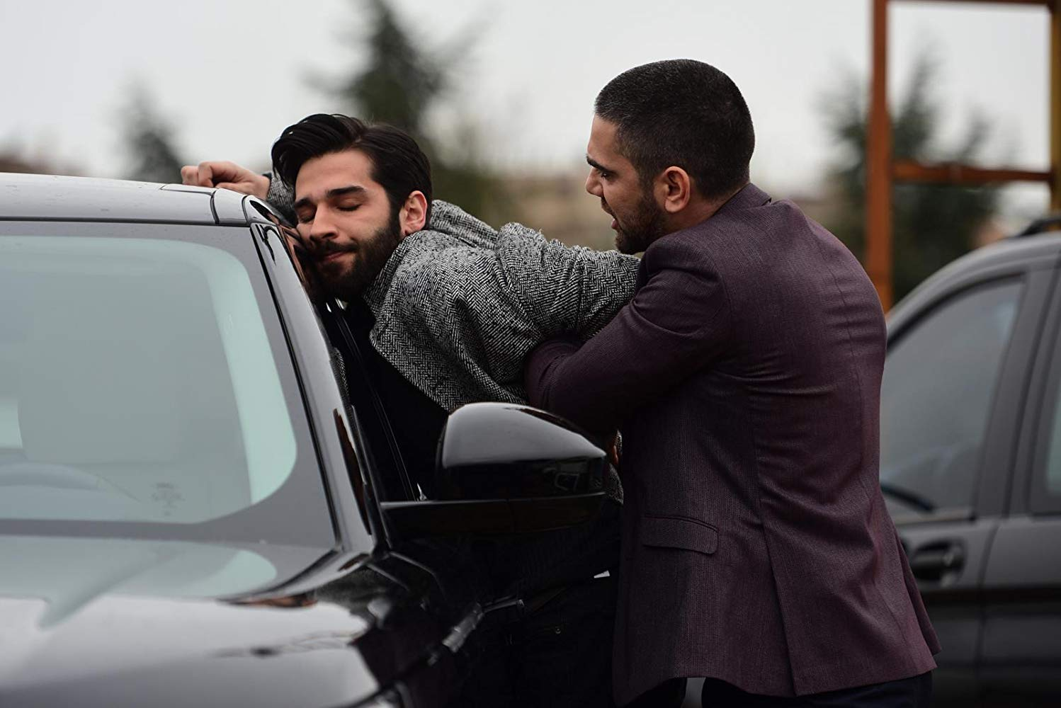 Kadir Dogulu and Baran Bölükbasi in Vuslat (2019)