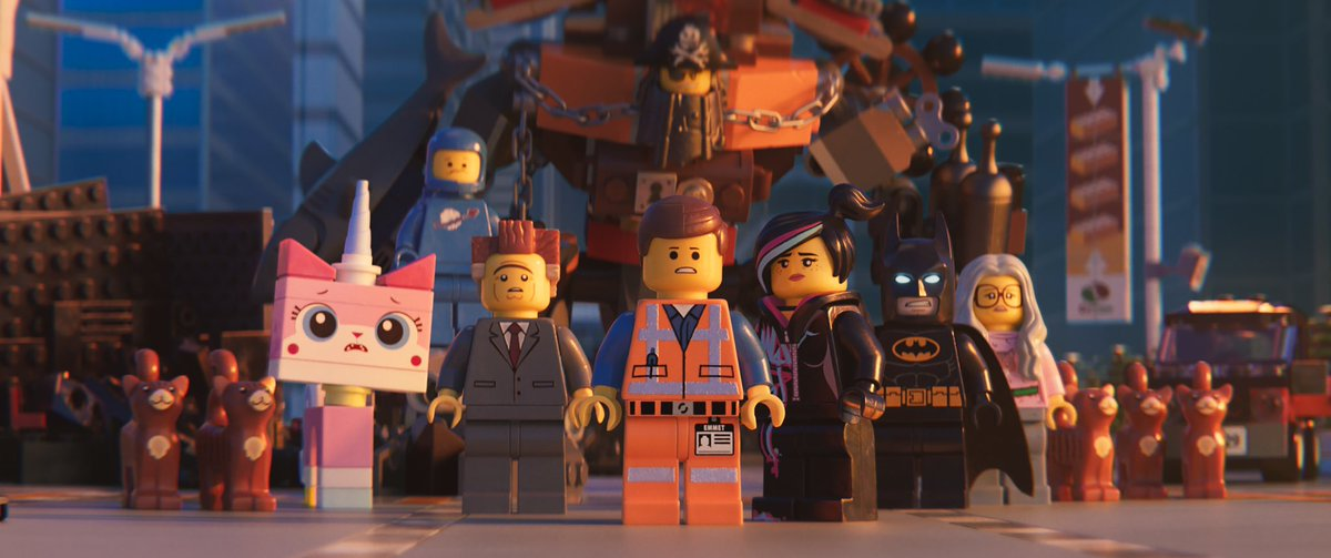 Will Ferrell, Will Arnett, Elizabeth Banks, Charlie Day, Nick Offerman, Chris Pratt, and Alison Brie in The Lego Movie 2: The Second Part (2019)