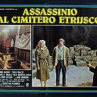 Elvire Audray and Paolo Malco in Assassinio al cimitero etrusco (1982)