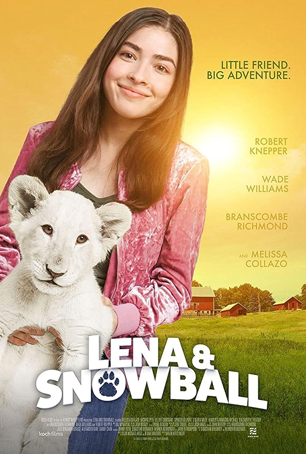 Lena and Snowball 2021 English 720p HDRip 800MB | 300MB Download