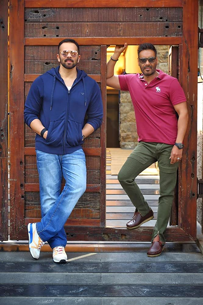 Ajay Devgn and Rohit Shetty in Golmaal 5 (2021)