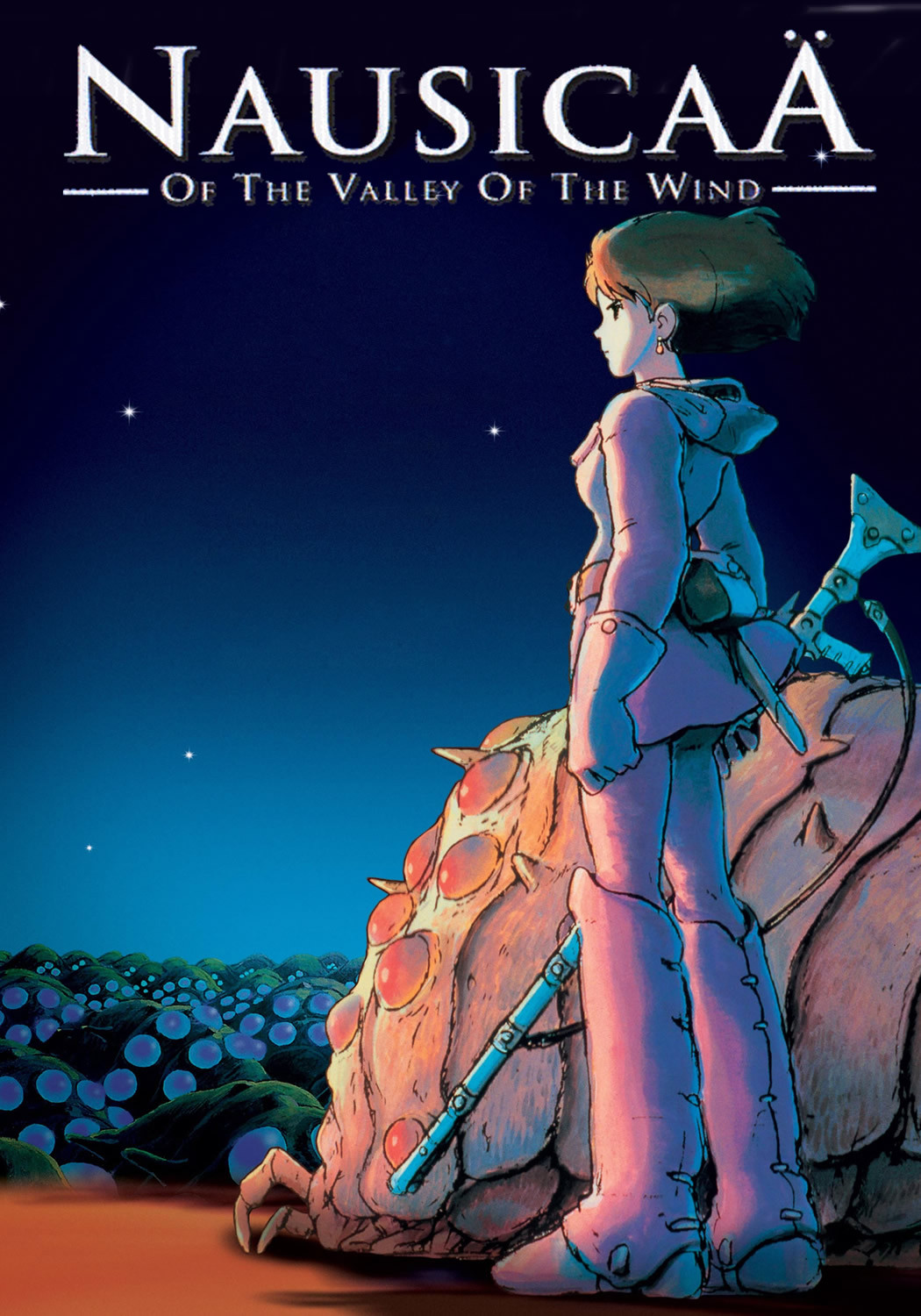 Nausicaa of the Valley of the Wind poster.