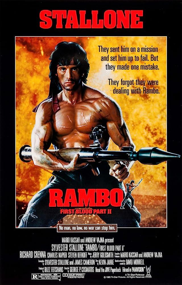 Poster film Rambo