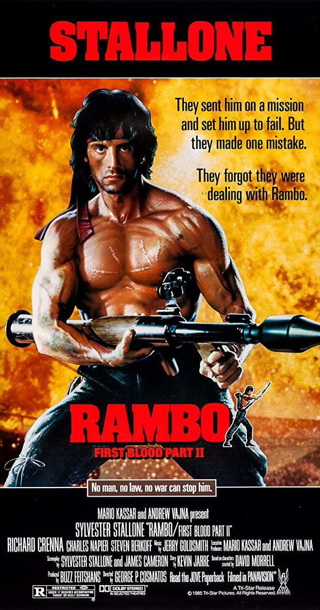 Subtitle of Rambo: First Blood Part II