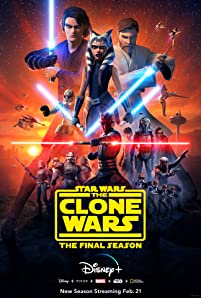 Witness the end of the groundbreaking series. The final season of StarWars: The Clone Wars starts streaming Feb. 21 on DisneyPlus.