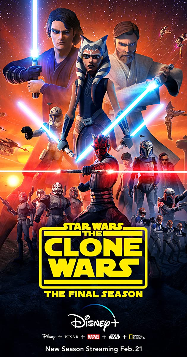 Star Wars The Clone Wars Tv Series 2008 2020 Imdb