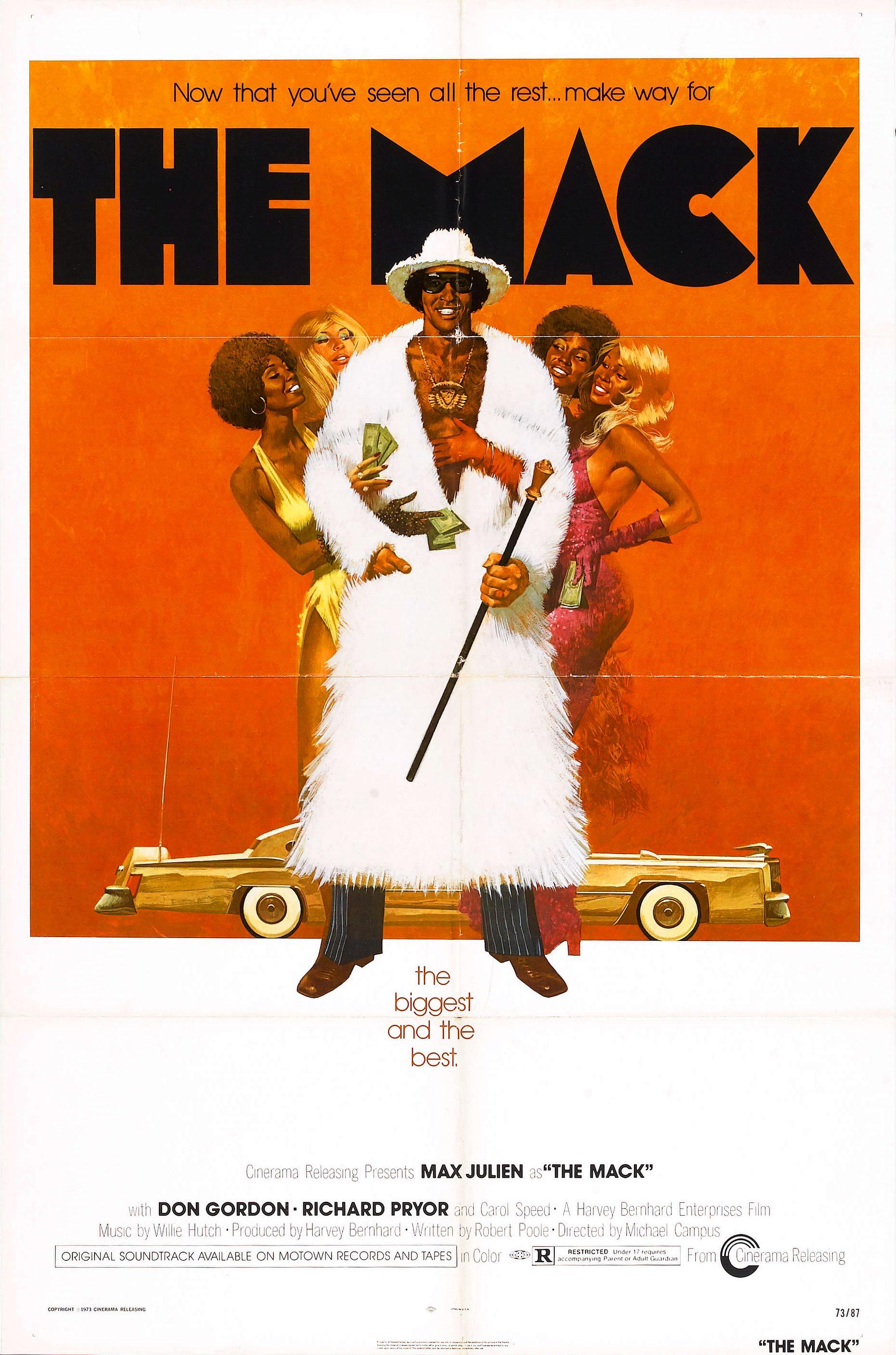 THE MACK Movie Poster Blaxploitation