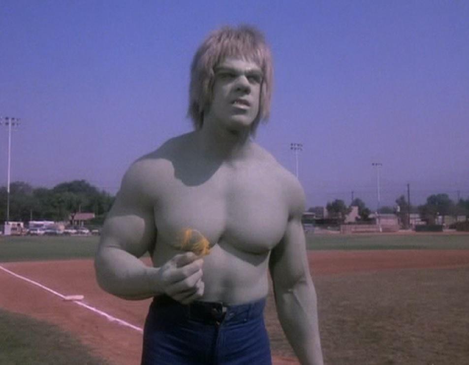 Lou Ferrigno in The Incredible Hulk (1978)
