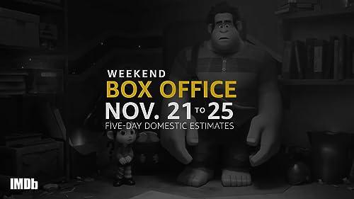 Weekend Box Office: November 21-25