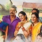 Kousalya, Sampath Raj, Surekha Vani, and Rakul Preet Singh in Rarandoi Veduka Chudham (2017)