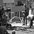 Gazmend Nela, Monna Mustafa, and Xhevdet Doda in Rooftop Story (2017)